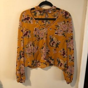 LIVE4TRUTH choker blouse
